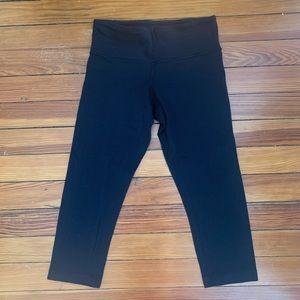 Lululemon Black Capris Leggings size 4